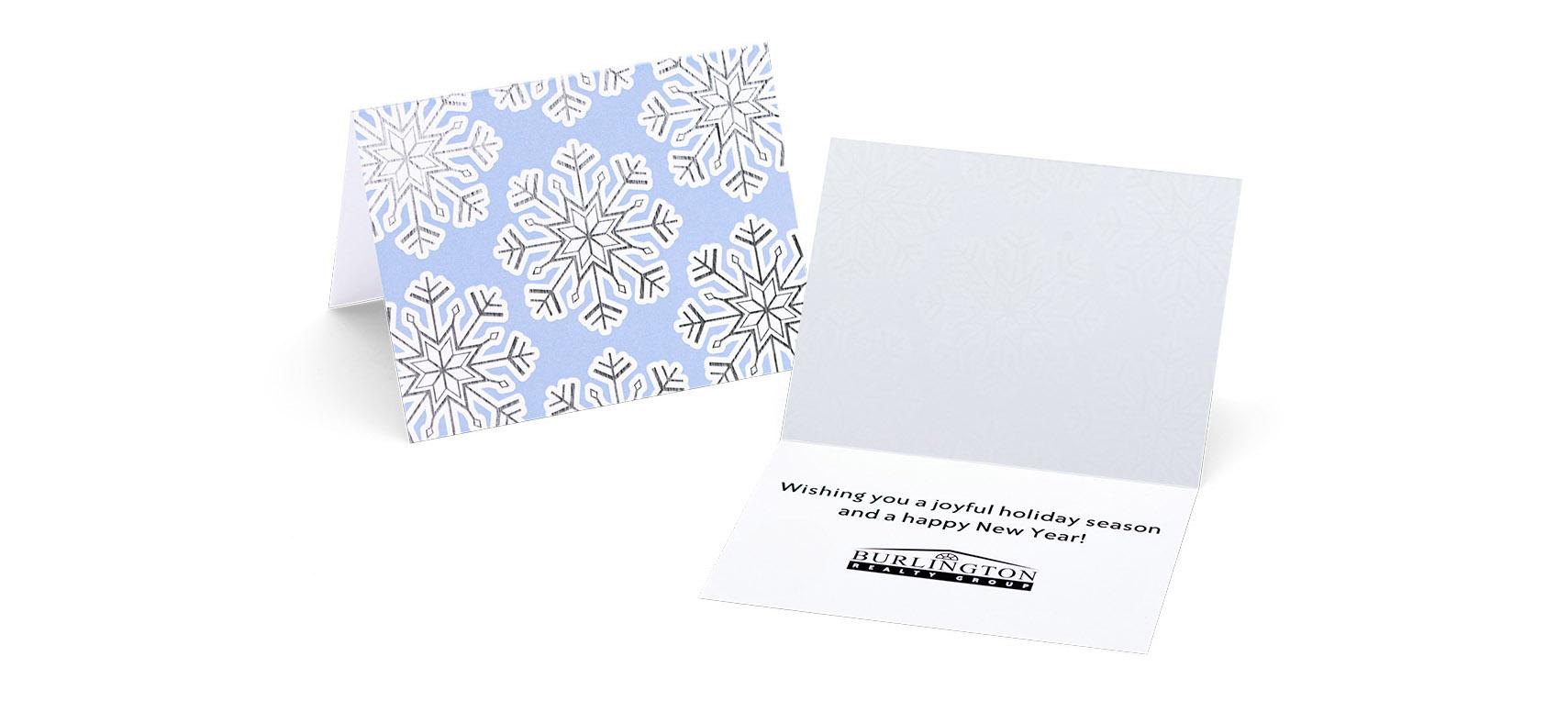 Fully Custom Printed Gift Card