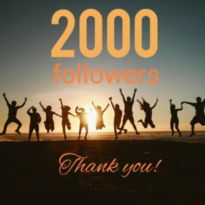 2000 Followers on Facebook!