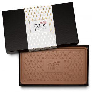 Holiday Modern Tree Christmas Chocolate Gift