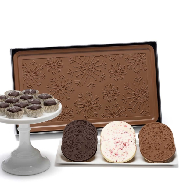 ready-gift-chocolate-RTG-1008-shimmering-snowflake-salted-caramels-cookies-bar-indulgent-3-piece-gift-tower-1