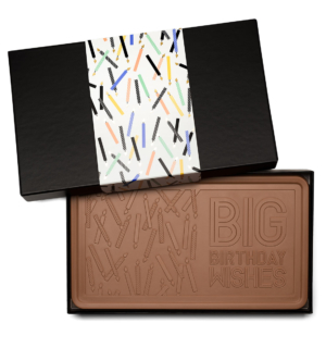 Happy Birthday Indulgent Chocolate Bar Gift