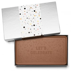 Event Anniversary Celebration Indulgent Chocolate Bar Gift