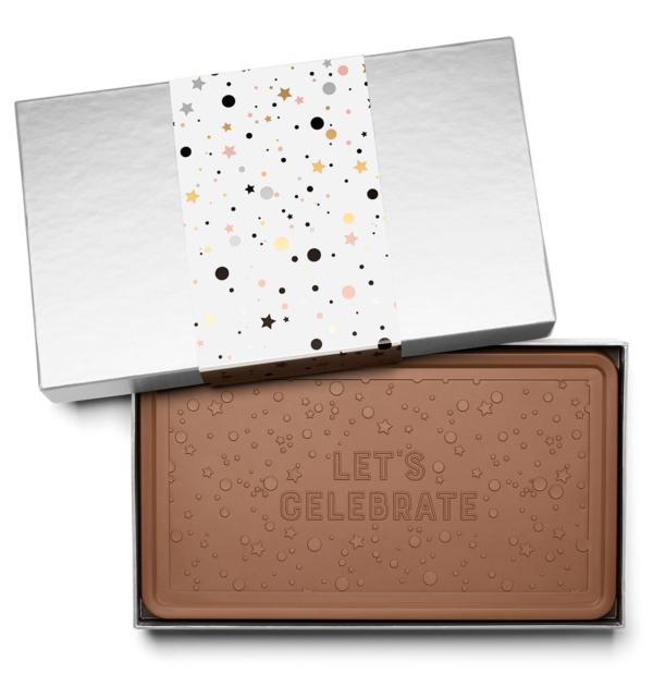 Event Anniversary Celebration Indulgent Chocolate Bar Gift