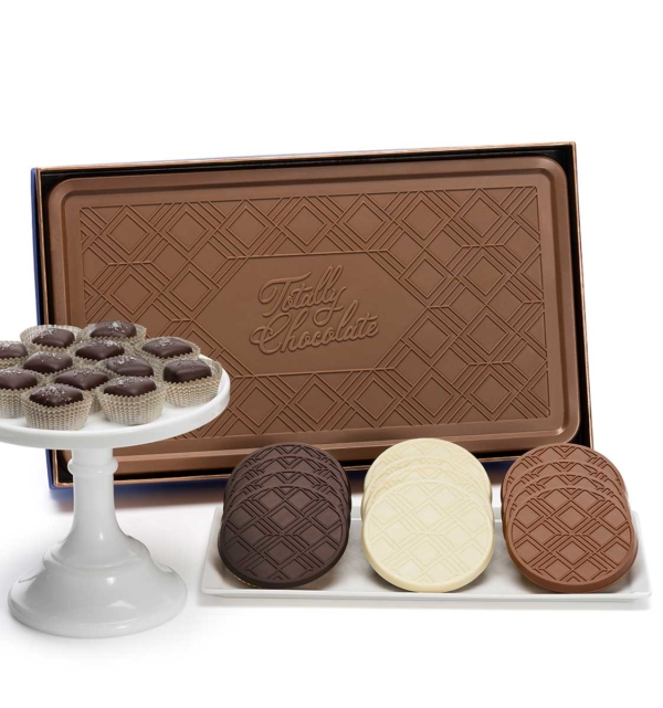 Signature Chocolate Favorites Indulgent 3-Piece Gift Tower