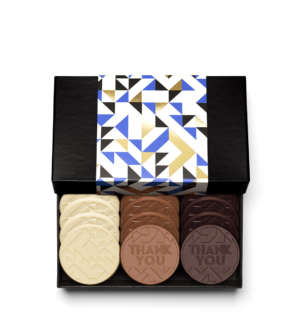 Thank You 12-Piece Chocolate Gift Cookie Set