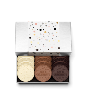 Celebration 12-Piece Chocolate Gift Cookie Set