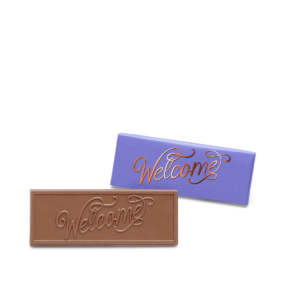 Welcome Milk Chocolate Wrapper Bar Gift Giveaway