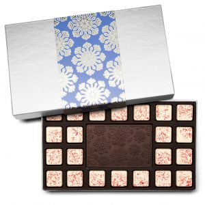 Holiday Snowflake Christmas Chocolate Gift 23-Piece