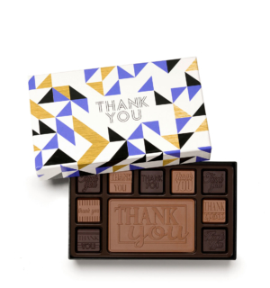 Thank You Milk Dark 10 Piece Assortment Employee Client Gift