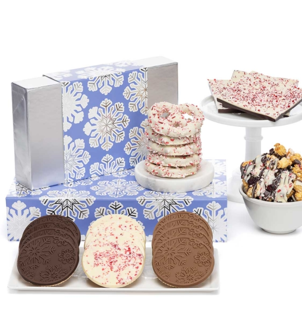 ready-gift-chocolate-SHX230704T-shimmering-snowflake-peppermint-delights-cookies-luxury-tasting-box-2-piece-gift-tower-1