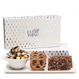 Holiday Modern Tree Luxury Christmas Chocolate Gift Box