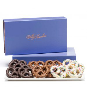 Signature Pretzel Luxury Tasting Box Business Client Gift