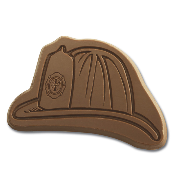 Fire Hat Safety Milk Chocolate Shape Gift Giveaway