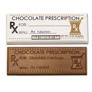 Chocolate Prescription Milk Chocolate Wrapper Bar