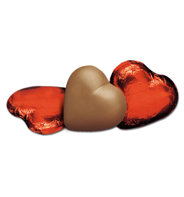 Milk Chocolate Hearts in Red Foil Gift Giveaway