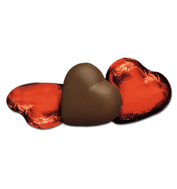 Dark Chocolate Hearts in Red Foil Gift Giveaway