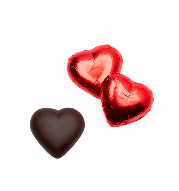 ready-gift-chocolate-SHX310125X-dark-chocolate-hearts-in-red-foil-featured