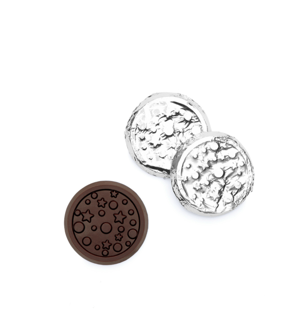 ready-gift-chocolate-SHX399053X-stars-dots-dark-chocolate-silver-gold-foiled-coin-1