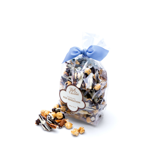 Signature Pop Sensation Chocolate Popcorn Business Client Gift