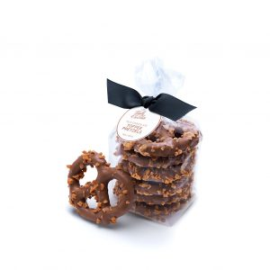 Signature Milk Chocolate Toffee Pretzels Business Client Gift