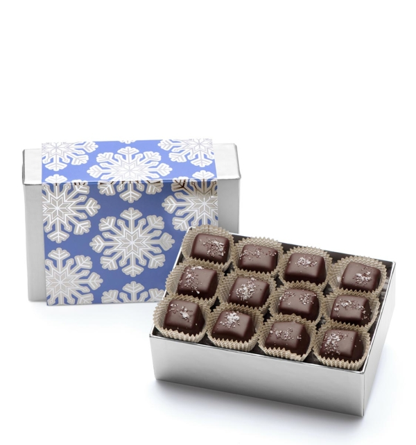 Holiday Snowflake Christmas Chocolate Gift