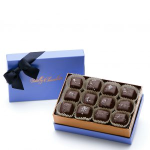Signature Dark Chocolate Salted Caramels Business Client Gift