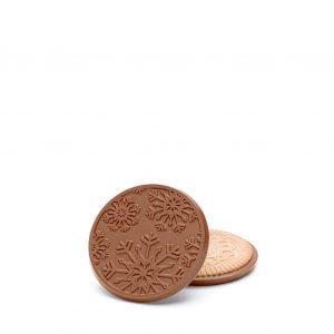 Holiday Snowflake Christmas Chocolate Cookie Gift