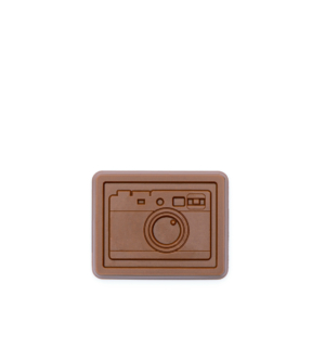 "custom chocolate 1001 small 2"" shape   clear wrap rollover"