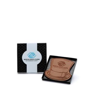 custom chocolate 1009 mini 4x4 shape   gift box rollover