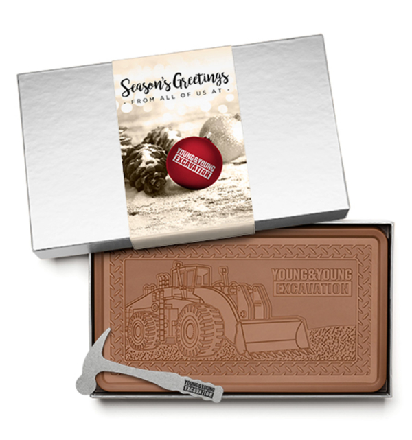 fully-custom-chocolate-Indulgent-2lb-bar-holiday-young-excavation-silver-box