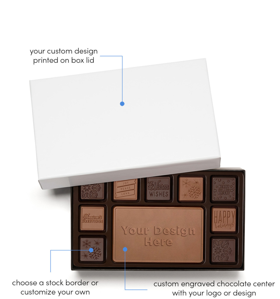 Custom wholesale chocolate gifts - Ensembles