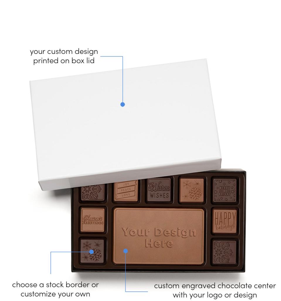Custom wholesale chocolate gifts - Ensembles