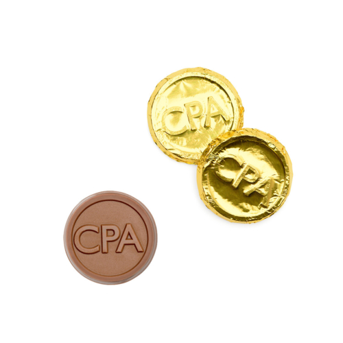 CPA can be designed on the chocolate coins