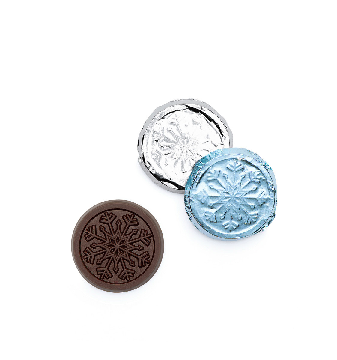 Belgian Dark Chocolate Mixed Foiled Coins Holiday