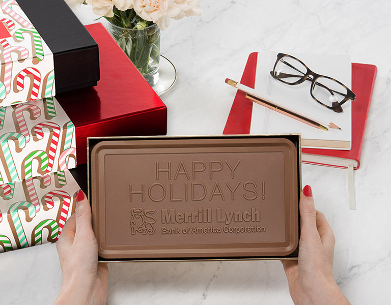 Fully Custom Chocolate Business Gifts