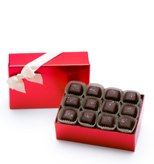 ready-gift-chocolate-SHX641208T-12-piece-dark-sea-salt-caramels-red