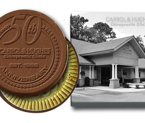 50-year-company-anniversary-custom-chocolate-cookie-gift