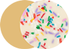 Cake & Sprinkles with Sugar Cookie Flavor Image