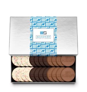 fully-custom-chocolate-4024-24-piece-cookie-set-custom-band-masonry-solutions