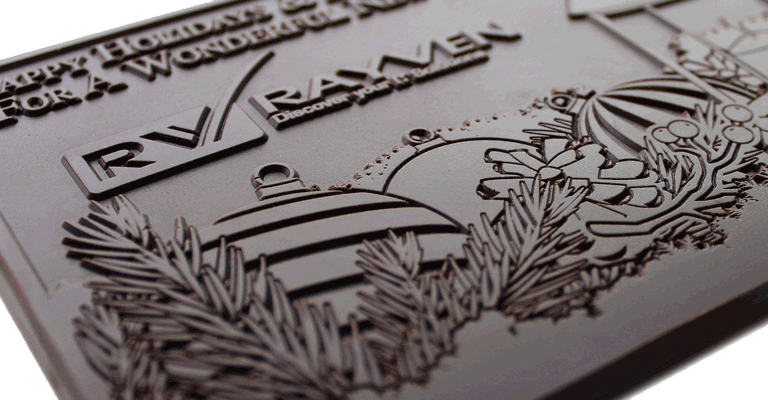 Beautifully-engraved-chocolate
