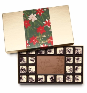 ready-gift-chocolate-SHX223001T-crimson-poinsettia-23-piece-ensemble-cookies-cream