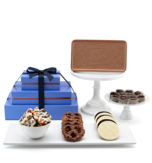 ready-gift-chocolate-RTG-1018-signature-popcorn-caramels-bar-pretzels-luxury-tasting-box-3-piece-gift-tower-featured