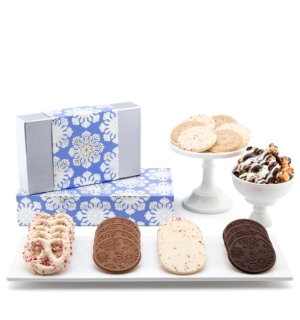 ready-gift-chocolate-SHX230704T-shimmering-snowflake-luxury-tasting-box-2-piece-gift-tower