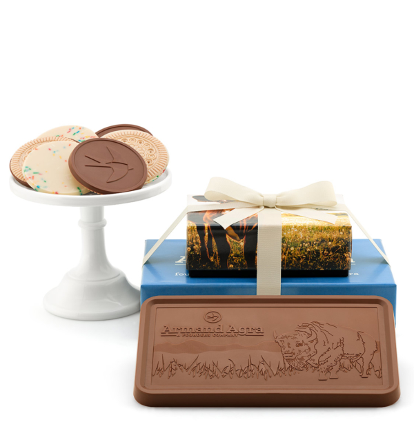 fully-custom-chocolate-8202-grand-2-piece-gift-tower-lid-cookies-bar-armand-agra
