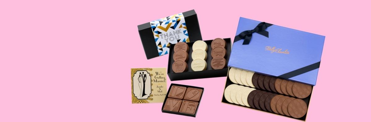 Fully-customized wholesale bulk chocolate