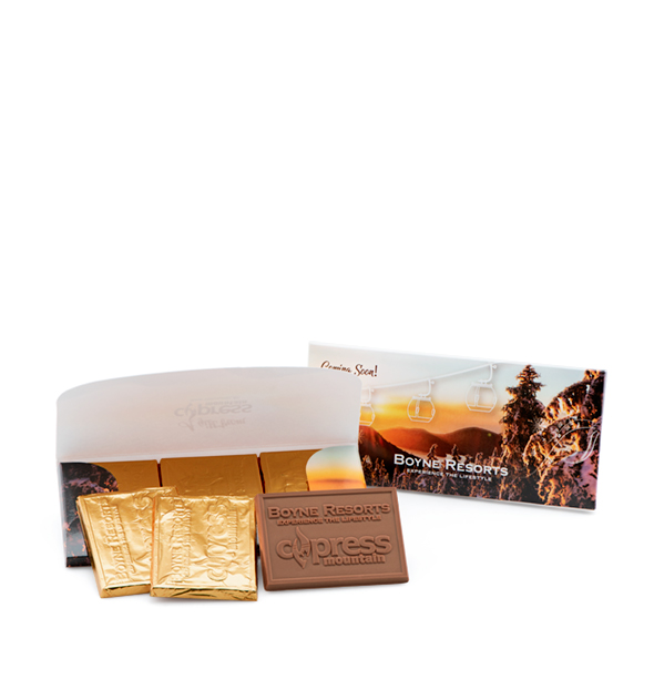 fully-custom-chocolate-7325-printed-envelope-belgian-chocolate-trio-cypress-boyne-resorts