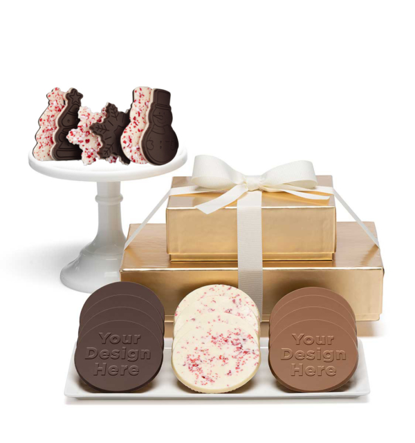 fully-custom-chocolate-8102-premium-2-piece-gift-tower-peppermint-cookies-fully-custom