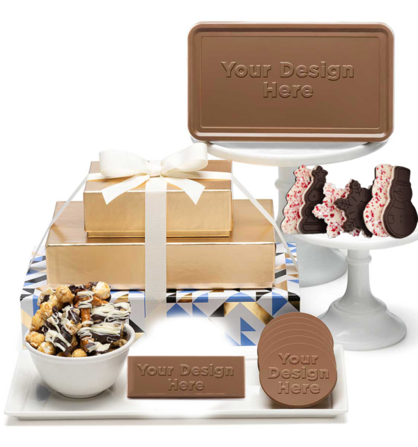 fully-custom-chocolate-8103-tasting-box-3-piece-gift-tower-peppermint-bar-gourmet-treats-fully-custom