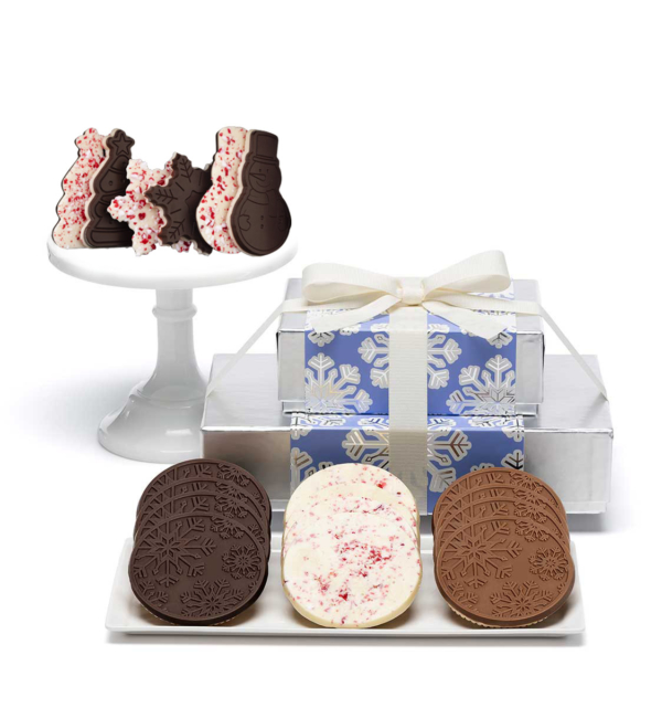ready-gift-chocolate-SHX230702T-shimmering-snowflake-peppermint-cookies-premium-2-piece-gift-tower