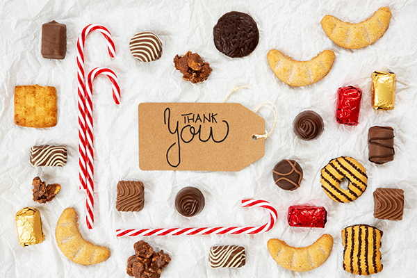 prepare chocolate for client appreciation gift is an option for company